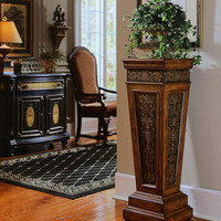 Etched Accent Pedestal by Pulaski Furniture