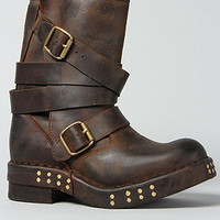 The Bexley Boot in Distressed Brown