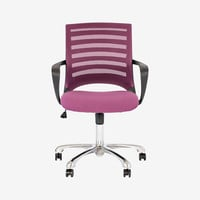 BARRIER DESK CHAIR - PURPLE