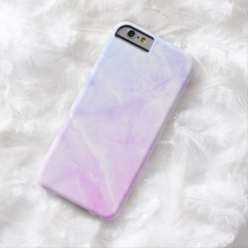 Claire Blossom Marble with luxury Barely There iPhone 6 Case