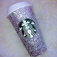 Crystal Starbucks Tumbler (Hot Drinks) 16 oz
