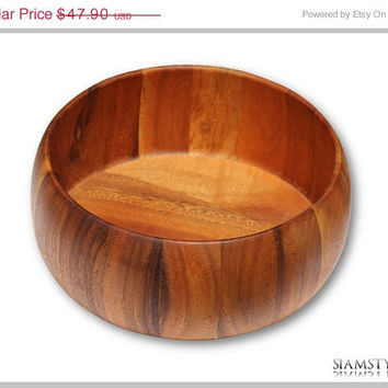 Christmas Gift - Fruit bowl, bowl made of teak wood