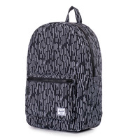 Herschel Supply Co.: Settlement Backpack - Black / White Rain Camo
