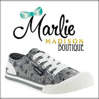 Jazzin Cotton Grey Shoe
