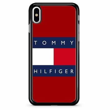 Tommy Hilfiger 6 iPhone X Case