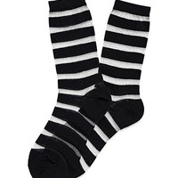 Shadow-Striped Socks