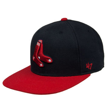 Boston Red Sox - Sure Shot Two Tone Captain Snapback Cap