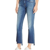 J BrandSelena Mid Rise Crop Jeans in Decoy