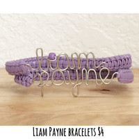 4.00 Lavender Liam Payne One Direction Bracelets