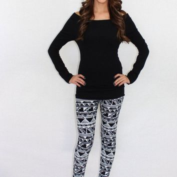 Pound the Alarm Aztec Leggings