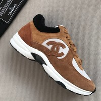 Double C Brown/white Sneaker