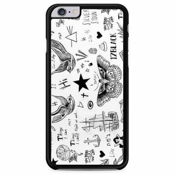 Harry Styles Tattoos iPhone 6 Plus/ 6S Plus Case