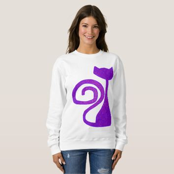 Curly-Tail Cat Clothing Sweatshirt