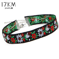 STREETS OF LIMA FLOWER CHOKER