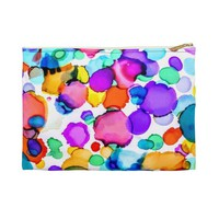 Accessory Pouch, Rainbow Colors, Travel Pouch, Travel Bag, Gifts for Her, Make-up Bag