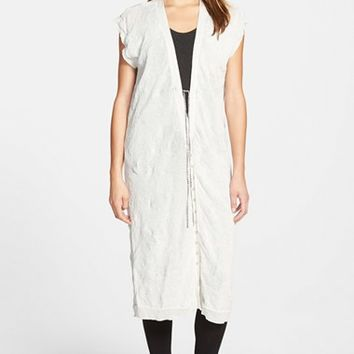 Women's Eileen Fisher The Fisher Project Long V-Neck Vest (Online Only)