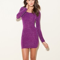 Nicky Long-Sleeve Dress at GUESS