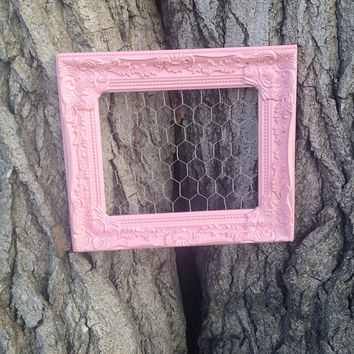 SALE!! Pink memo, wall, jewelry display. One-of-a kind!