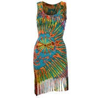 Voodoo Child Tie Dye Dress