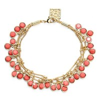 Women's Anne Klein 'Beacon Ct.' Multistrand Charm Bracelet
