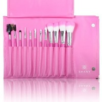 SHANY Pro Vegan Mineral Brush Set with Pink Clutch:Amazon:Beauty