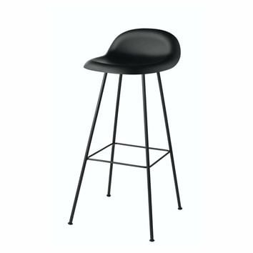 Gubi 3D Bar and Counter Stool - Center Base - Hi-Rek Seat