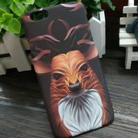 3D So Cool Luminous Fox Case Cover for iPhone 5s 6 6s Plus Gift 3