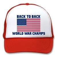 Undisputed World War Champions, American Flag from Zazzle.com