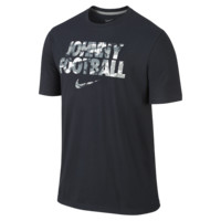 "Nike ""Johnny Football"" Cotton (Manziel) Men's T-Shirt Size Small (Black)"