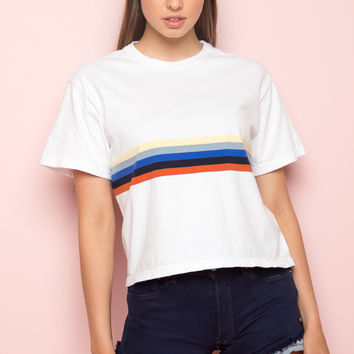 Aleena Rainbow Top - Just In