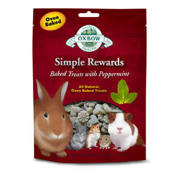 Oxbow Simple Rewards Timothy Treats Peppermint 55g
