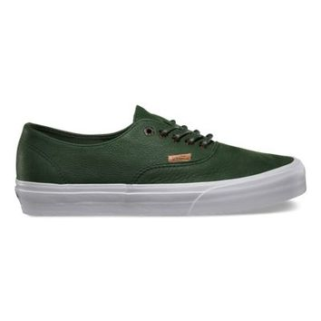 Vans Leather Authentic Decon CA (kombu green)
