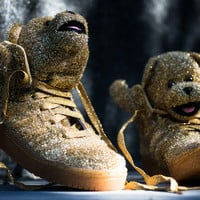 Adidas originals x Jeremy Scott JS Bear - Gold - Sneaker Politics