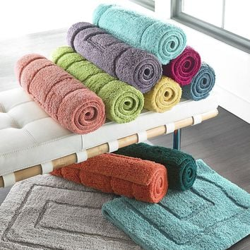 Spring Bliss Egyptian Cotton Bath Rugs