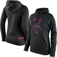 Buffalo Bills Nike Women's Breast Cancer Awareness Hoodie - Black
