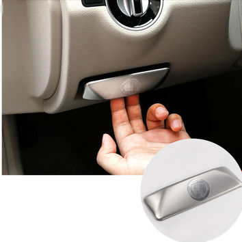 Inner Electronic Handbrake Decorative Cover Trim For Benz E Class W212 2010-2015