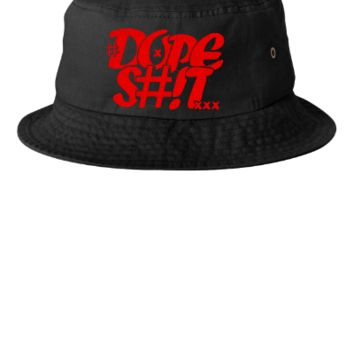 dope shit red Snapback,Hat - Bucket Hat
