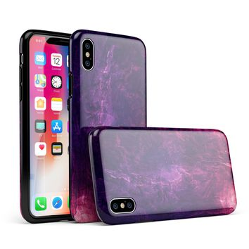 Abstract Fire & Ice V1 - iPhone X Swappable Hybrid Case