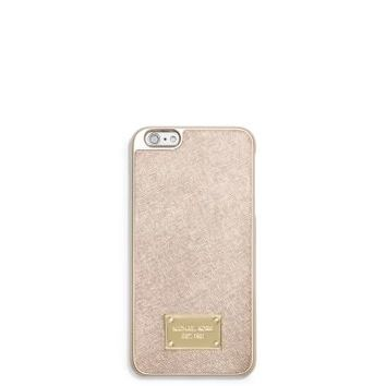 Metallic Leather Case for iPhone 6 Plus | Michael Kors
