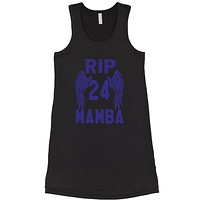 Black Mamba Rest In Peace Racerback LBD Little Black Dress