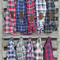 Plaid Pleasure Long Sleeve Shirts