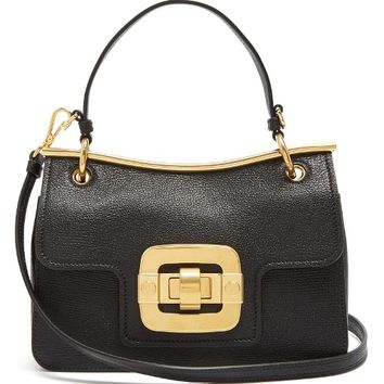 Waved-frame grained-leather shoulder bag | Miu Miu | MATCHESFASHION.COM US