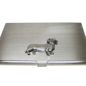 Dachshund Wiener Dog Business Card Holder