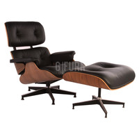 Reproduction of Charles and Ray Eames® Lounge Chair + Ottoman | GFURN