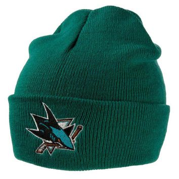 DCCKU3R San Jose Sharks - Logo Adult Knit Hat