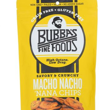 BUBBAS FINE FOODS LLC: Chips Nana Macho Nacho, 2.7 oz