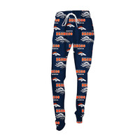 Denver Broncos Fusion Printed Sleep Pants