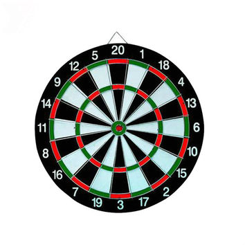 2016 New Arrival Darts Professional 12 Inch Fitness Equipment 6 Dart Flights International Flock Printing Dart Board