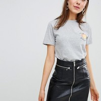 New Look Feeling Peachy Tee at asos.com