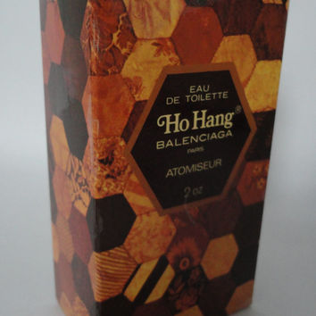 Vintage Ho Hang Balenciaga, eau de toilette, atomiseur, 60ml, 2oz, very rare